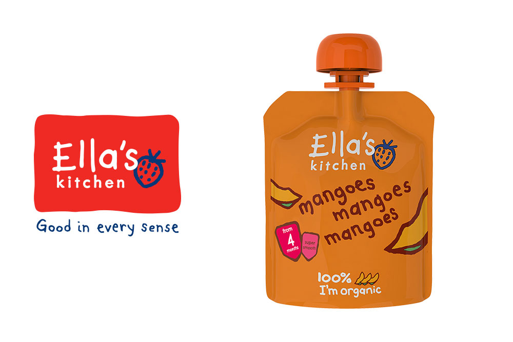 Ella's Kitchen Mango mango mango / Jensen & Co